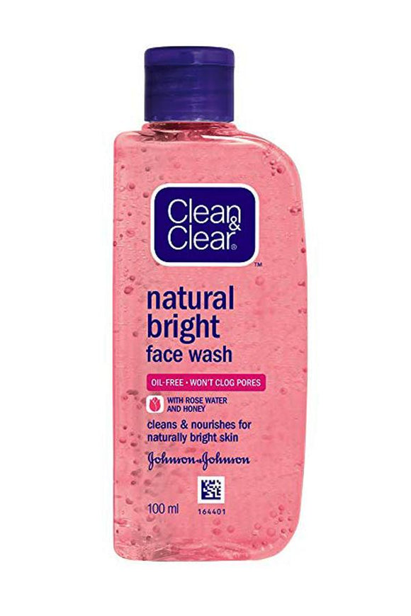 Clean and Clear Natural Bright Face Wash - Lipcara