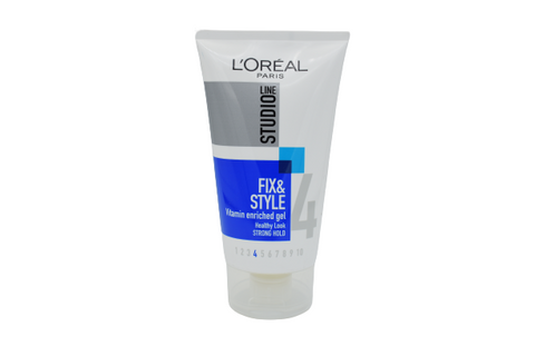 L'OREAL Line Studio 4 FIX & STYLE Vitamin Enriched Gel Healthy Look 150mL