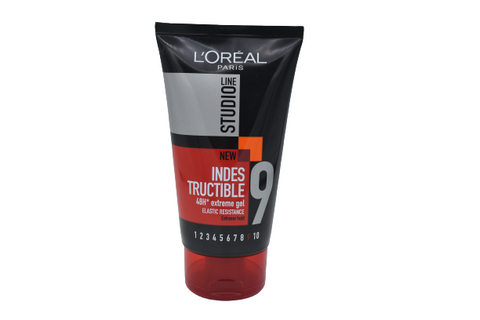 L'Oreal Studio Line 9 Indestructable Gel 48H Extreme Gel 150ml
