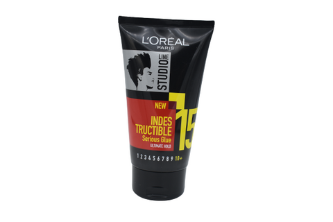 L'OREAL Line Studio 15 INDESTRUCTIBLE Serious Glue Ultimate Hold 150ml