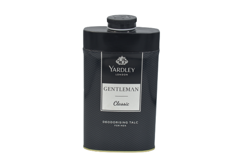 YARDLEY LONDON Equity | Gentleman Classic | Deodorizing Talc for men