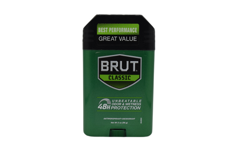 BRUT Classic Scent Anti-Perspirant Deodorant Stick | Best Performance