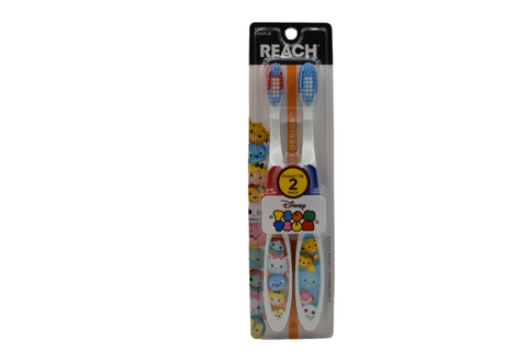 Reach Toothbrush | Disney Style Toothbrush for kids | 2 In 1 Pack