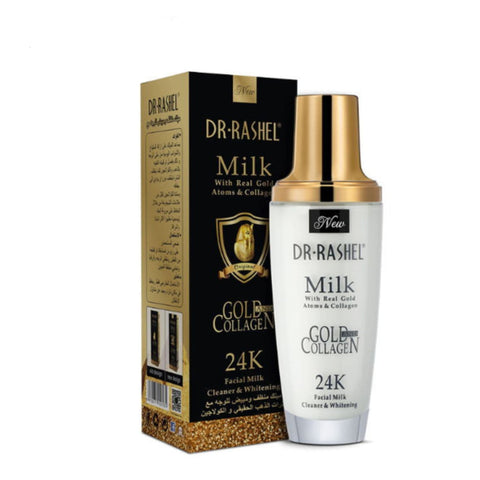Dr Rashel 24K Gold Atom Collagen facial Milk Cleanser - Lipcara