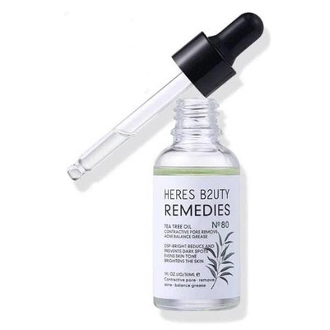 Heres Beauty Acne Removal Repair Scar Natural Tea Tree Oil Serum - Lipcara