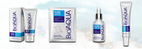 BIO AQUA Anti Acne Series | Best Acne Removal Kit | 4 Acne Skincare Products in 1