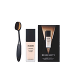 Heres Beauty All Hours Foundation with Free Brush - Lipcara