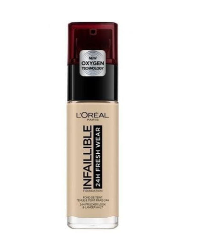 Loreal Infallible 24H Fresh Foundation - Lipcara