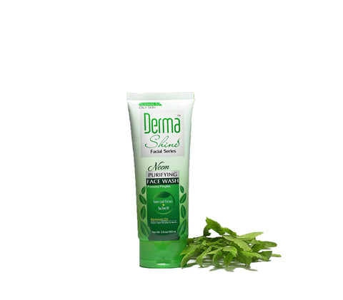 Derma Shine Neem Purifying Double Power Face Wash