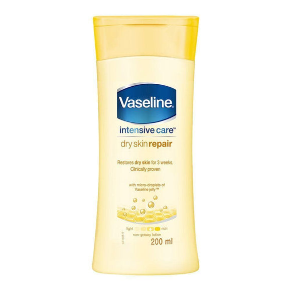 Vaseline Intensive Care Dry Skin Repair Lotion - Lipcara