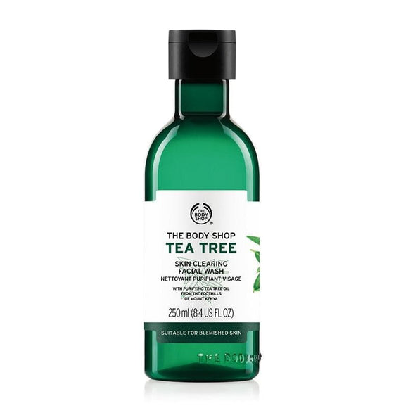 The Body Shop Tea Tree Skin Clearing Facial Wash (250 ml) - Lipcara
