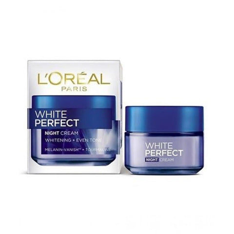 White Perfect Fairness Revealing Soothing Night Cream - Lipcara