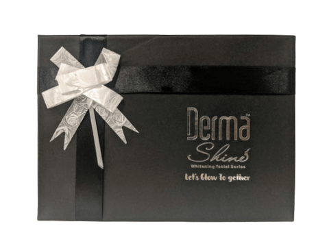 Derma Shine Facial Foam's Black Gift Box - Lipcara
