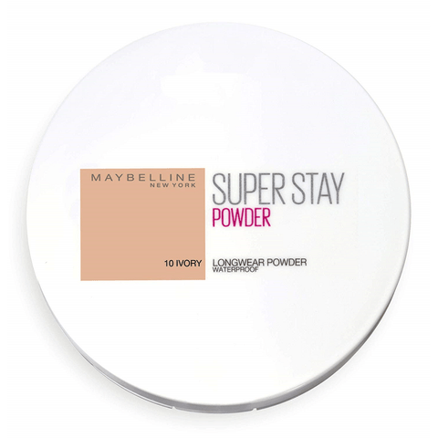 MAYBELLINE SUPERSTAY LONGWEAR POWDER WATERPROOF - 10 IVORY