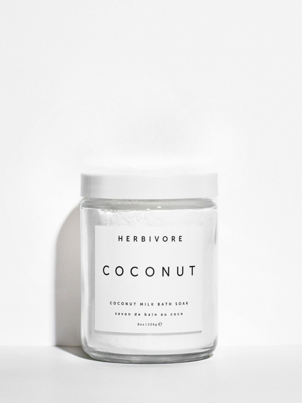 Herbivore Botanicals Coconut Milk Bath Soak - 16 oz
