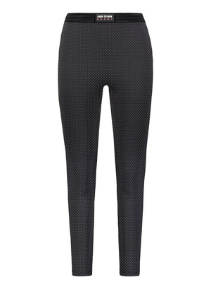 Bonded Active Legging, Micro Dot