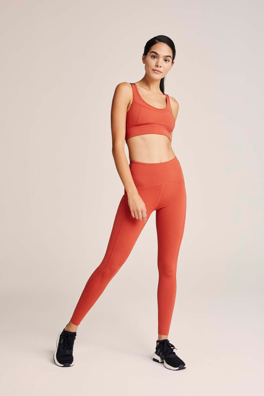 Varley Meadow Legging, Spiced Red