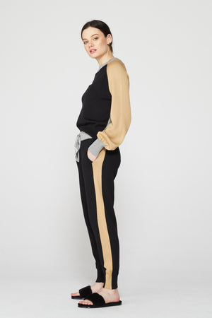 Monrow Color Block Sweats, Multi