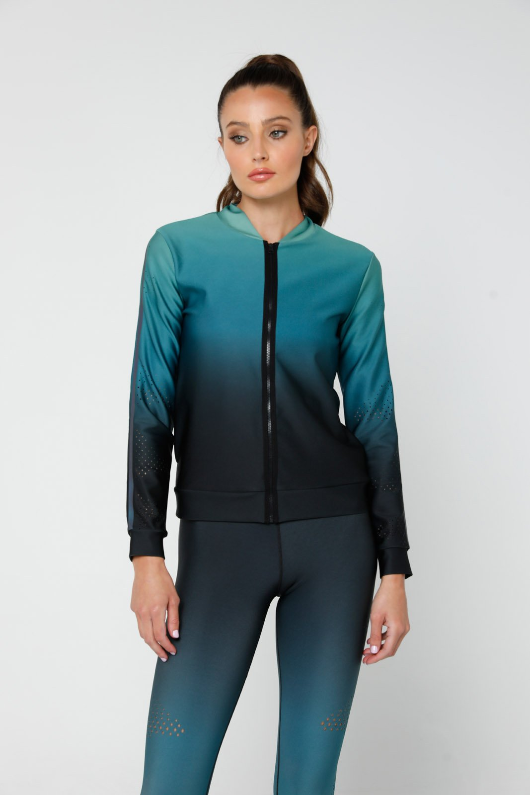 Onduler Pix Air Jacket, MINT GRADIENT/MOON LIGHT