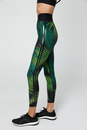 The Wilds Ultra High Legging, LEAVES PRINT/PATENT NERO