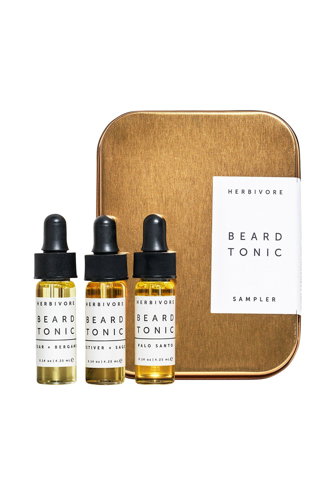 Herbivore Botanicals Beard Tonic Sampler-Set
