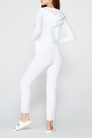 White Supersoft Vintage Sweats, White