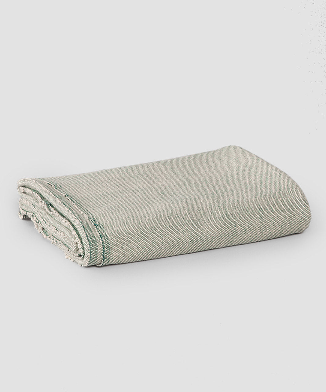Classic Cotton Yoga Blanket, Alpine Weave