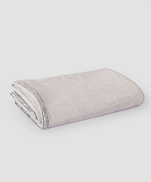Classic Cotton Yoga Blanket, Stone Weave