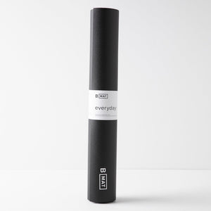 B Yoga Strong Long Mat Black