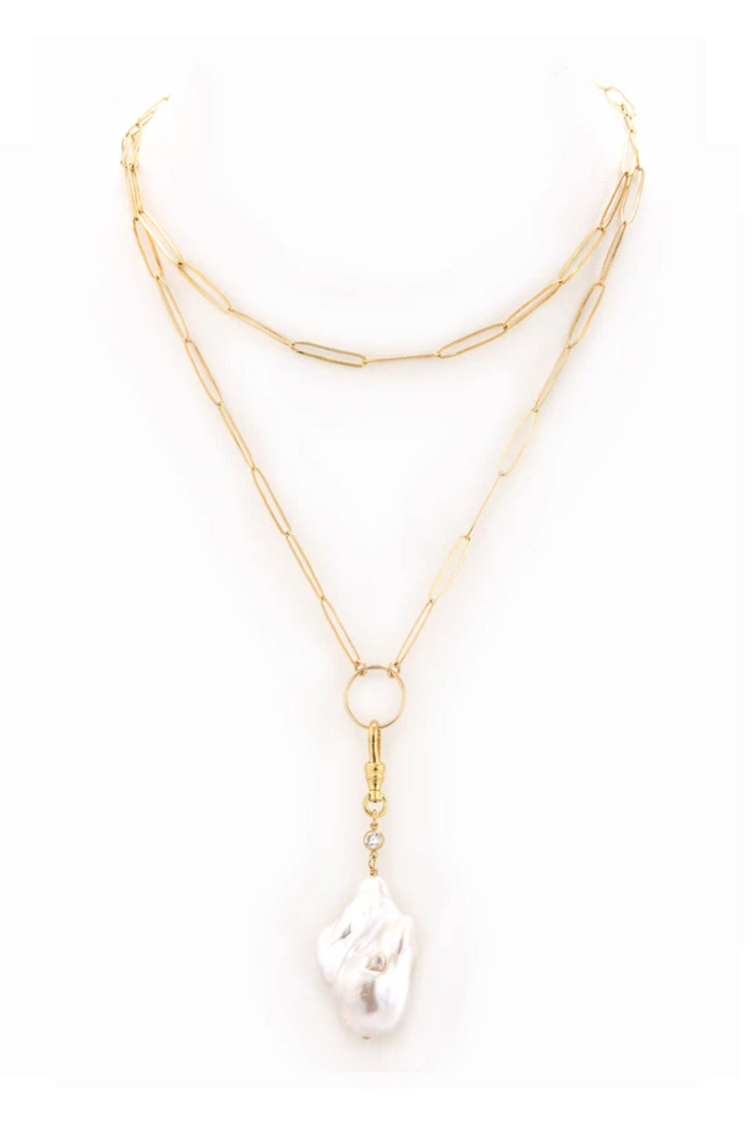 Taylor and Tessier Gardenia Necklace