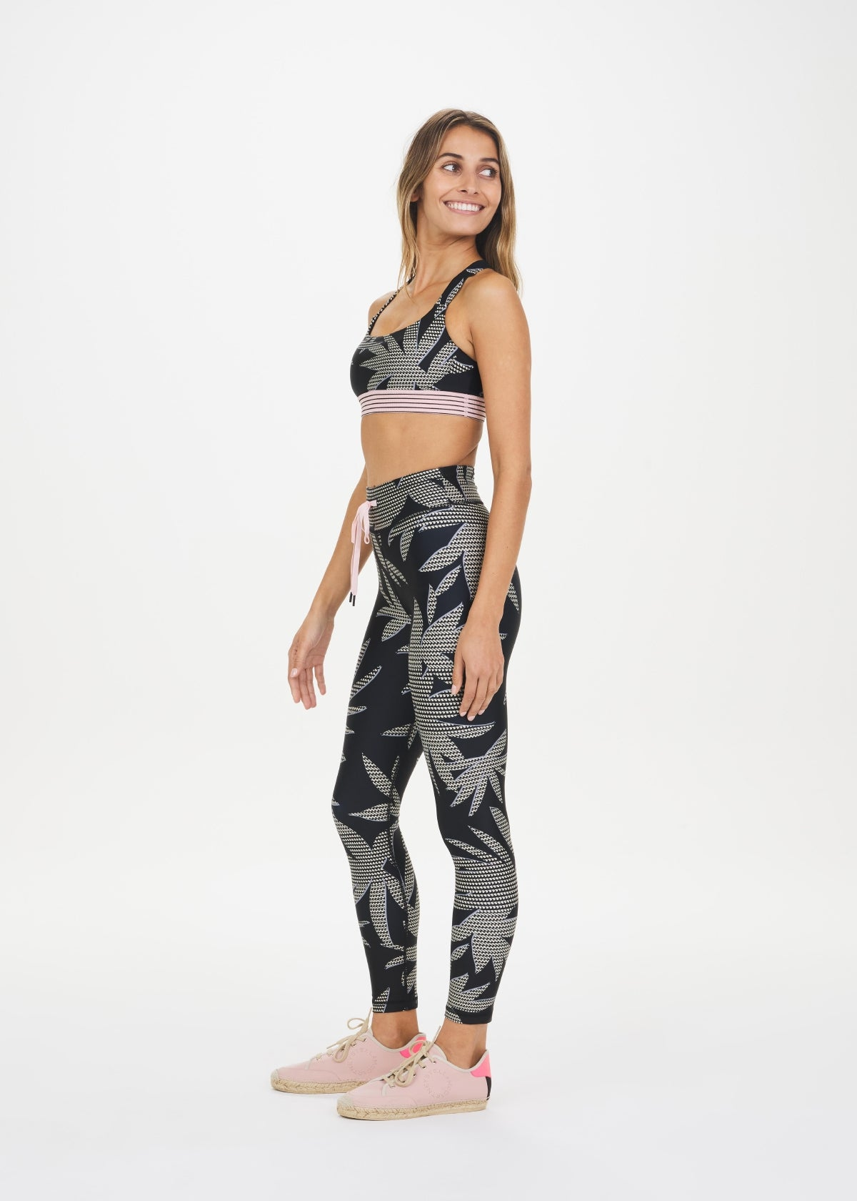 PALM MIDI PANT, ABSTRACT