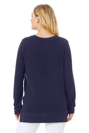 Alo Glimpse L/S Top, Rich Navy