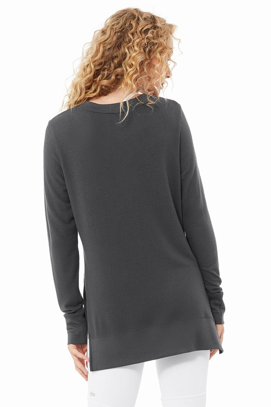 Alo Glimpse L/S Top, Anthracite