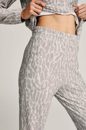 Varley Effie pant, Neutral Leopard