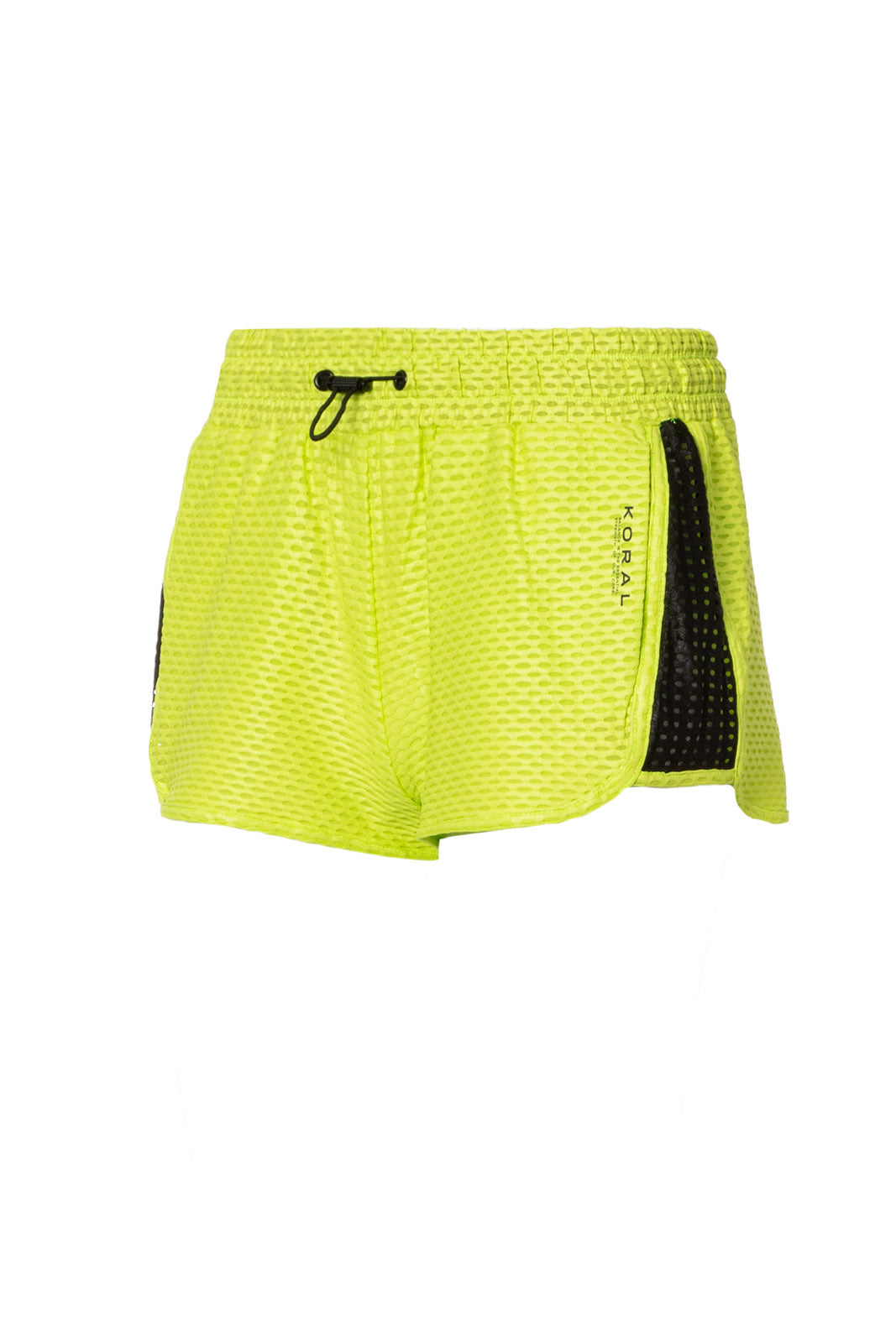 KORAL POWER NETZ SHORT, NEON LIME