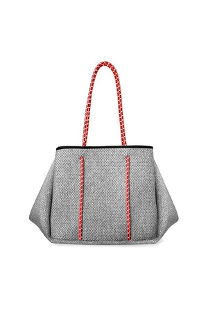 Neoprene Tote, Light Heather
