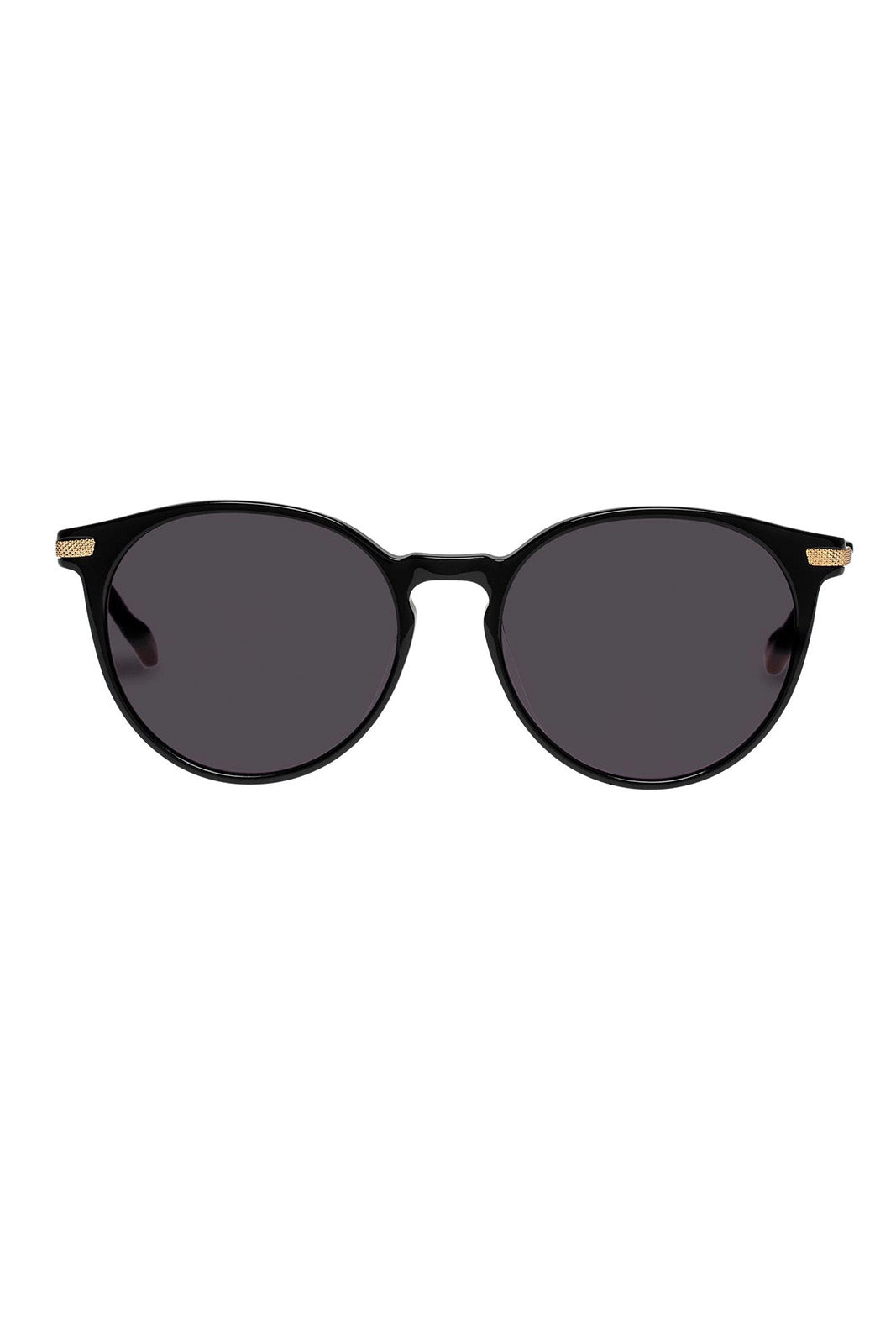 LE SPECS UFOLOGY BLACK GOLD/SMOKE