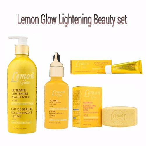 Lemon Glow Ultimate Lightening Beauty set