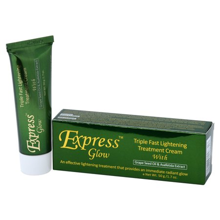Express Glow Triple Fast Lightening Cream Tube 1.7oz