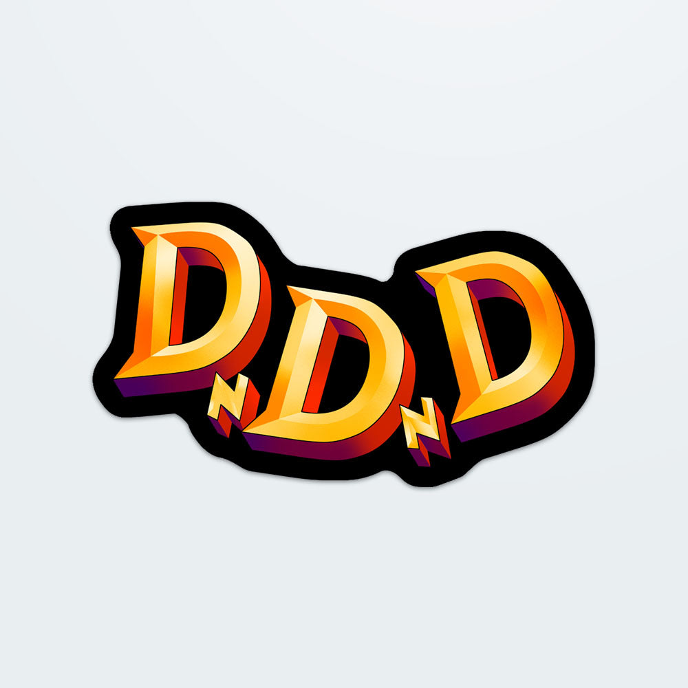 DnDnD Logo Sticker