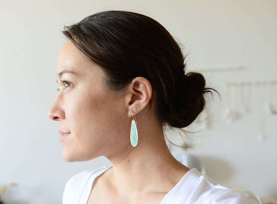 Patina Petal Earrings
