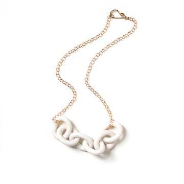 White Harbor Chain Necklace