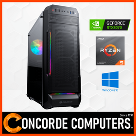 AMD Ryzen 5 3600 | RTX 3070 | 16GB | 1TB SSD | Gaming Computer System Desktop PC