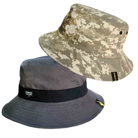 FrancisM Reversible Bucket Hat (Disimulado Logo)