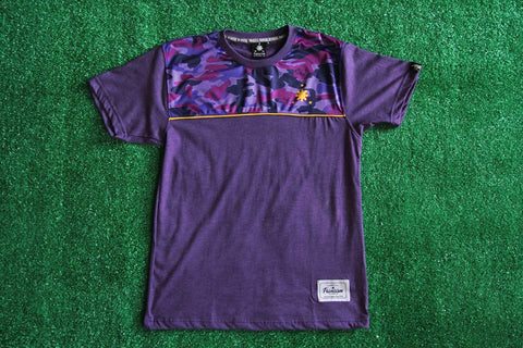 Men's Camou Stripes (Violet)