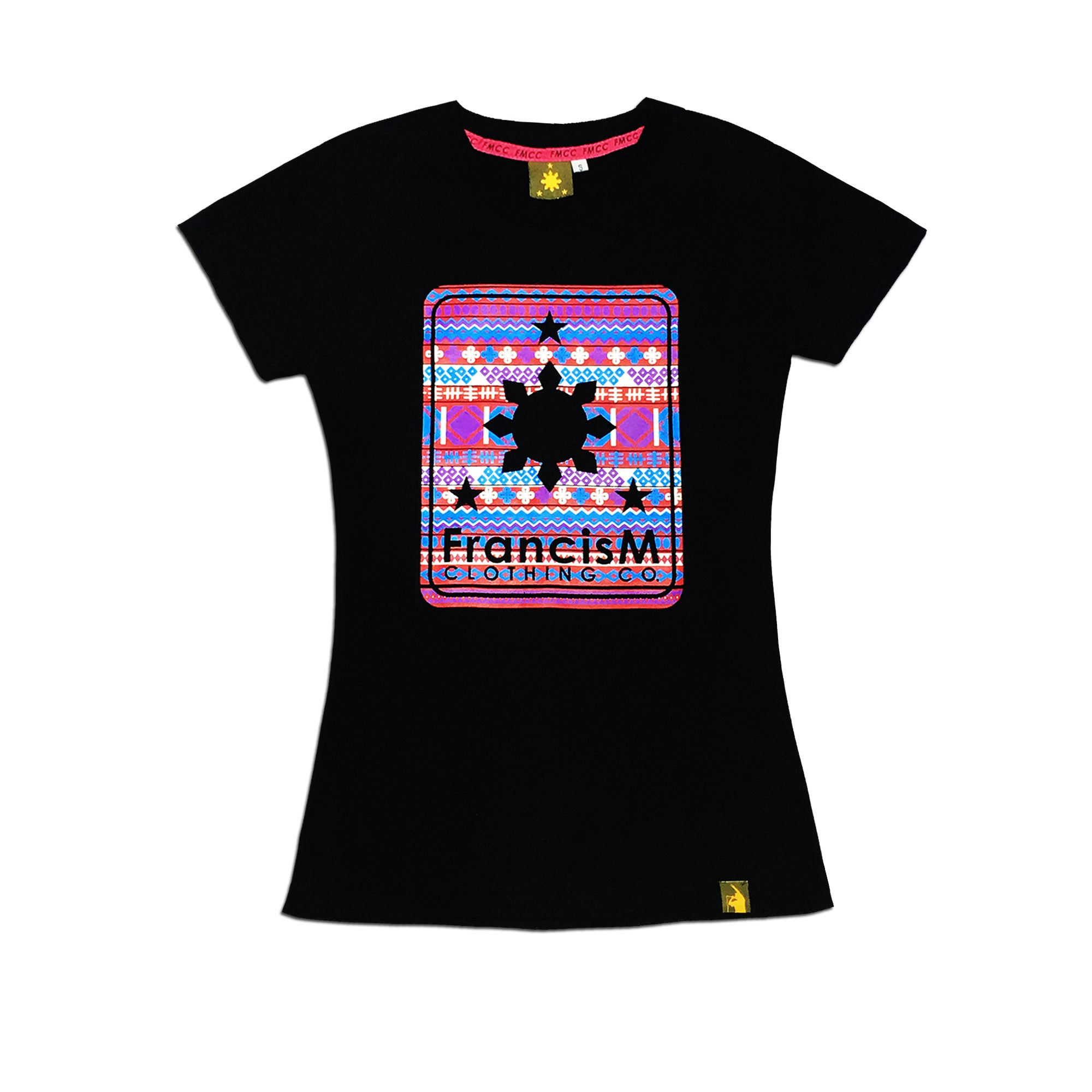 Women's Ethnic Logo (Black)
