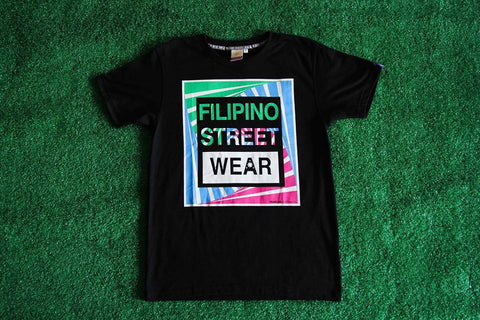 Men's FILIPINO STREET WEAR (Black)