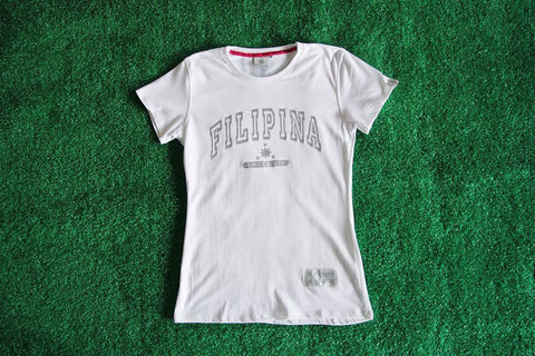 Women's Filipina Since Birth X (White)