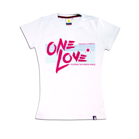 Women's Love Lines (White)