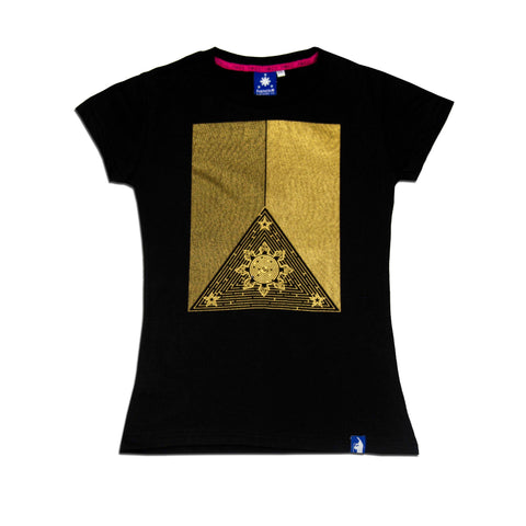 Women's Maze (Black/Gold)